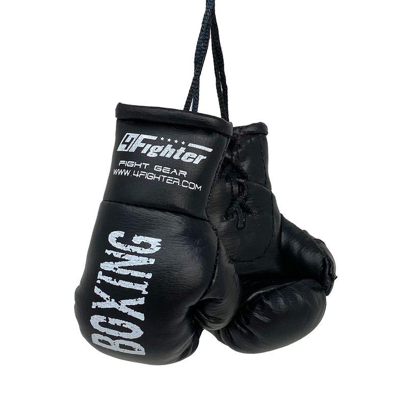 4Fighter Mini Boxhandschuhe schwarz Boxing
