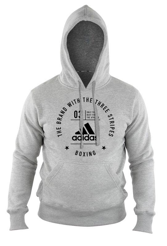 """adidas Community Hoody """"Boxing"""" grau schwarz"""