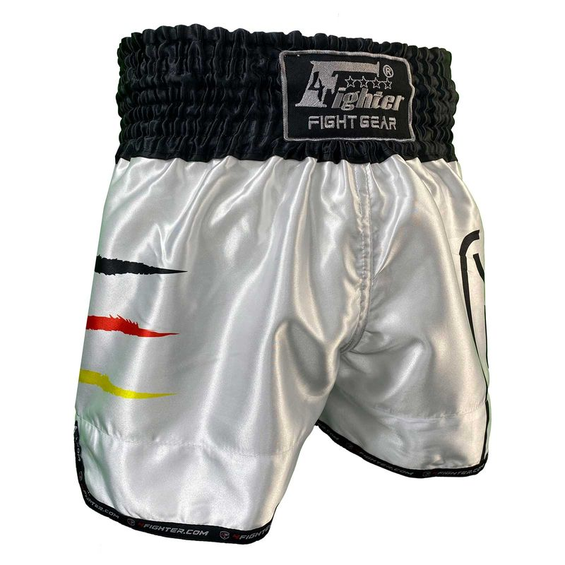 4Fighter Muay Thai Shorts National Deutschland in coolem Sublimation Druck