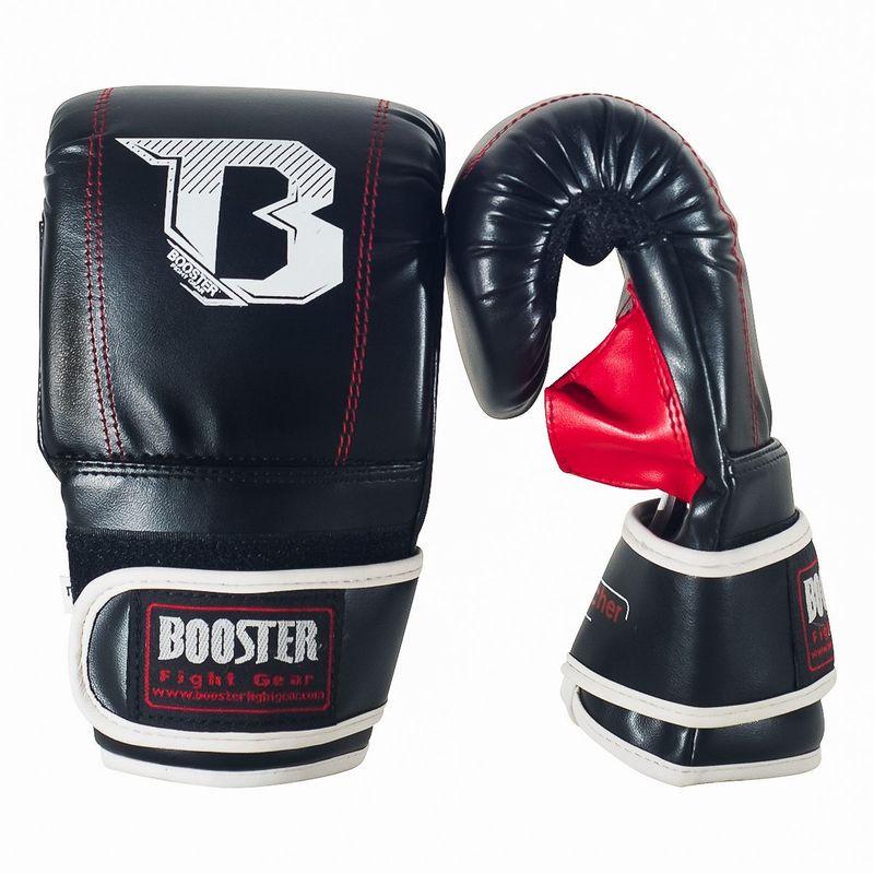 Booster BBG Air Puncher Boxsack Handschuhe schwarz-rot PU Mesh