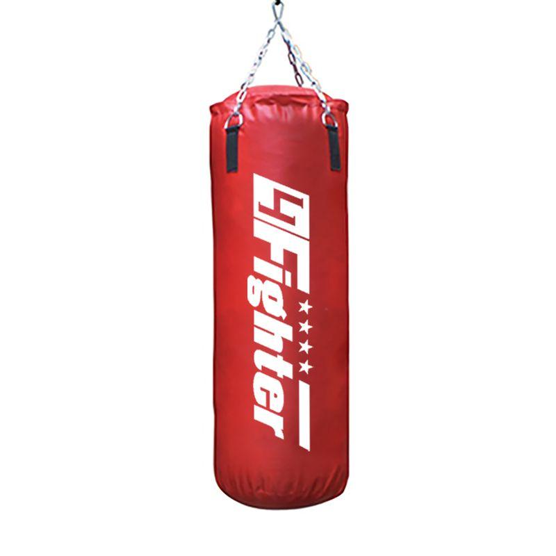 4Fighter Boxsack Classic rot 100 cm x Ø 35 cm ± 30 kg