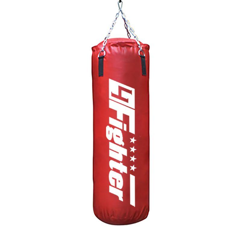 4Fighter Boxsack Classic rot 80 cm x Ø 35 cm ± 28 kg