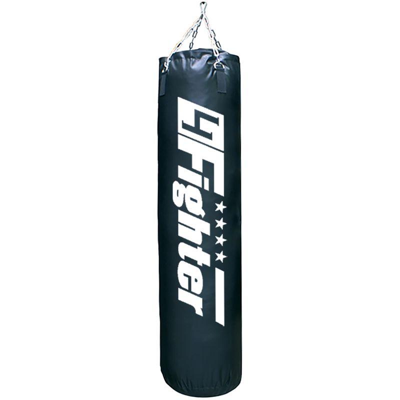 4Fighter Boxsack Classic schwarz 150 cm x Ø 35 cm ± 40 kg