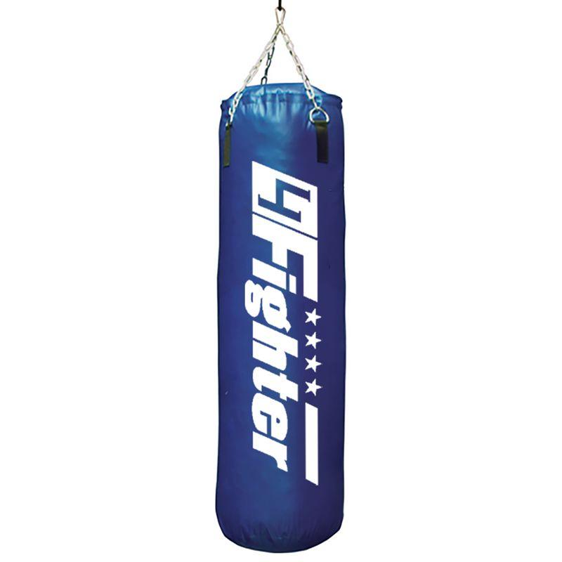 4Fighter Boxsack Classic blau 120 cm x Ø 35 cm ± 34 kg