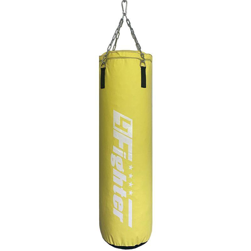 4Fighter Kinder Boxsack Classic gelb  70 cm x Ø 30 cm ± 14 kg