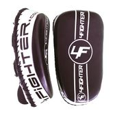 4Fighter Thai PAO  Kick Pad Muaythai Kickpads - Leather black-white