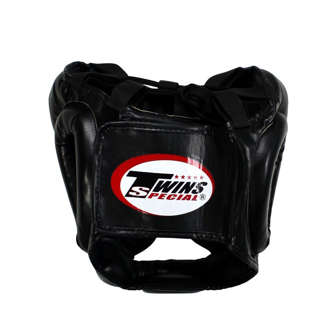 Gemelos Sparring Head Guard / Training Head Guard con mentón y protector de mejillas HGL-3 – Bild 2