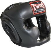 Gemelos Sparring Head Guard / Training Head Guard con mentón y protector de mejillas HGL-3