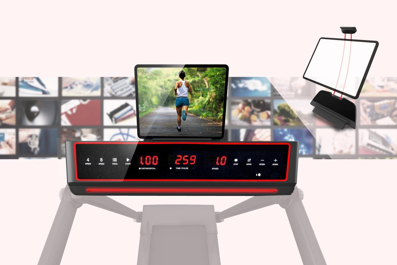 Laufband TM 750S: Alle relevanten Werte auf einen Blick