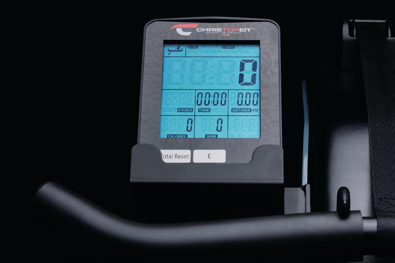 Wasserrudergerät WP 1000: Übersichtlicher Computer