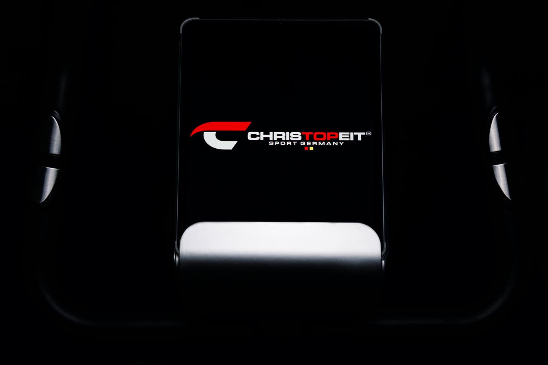Heimtrainer Ergometer AX 3000: Geräuscharmes Gerät mit Tablet- und Smartphone-Halterung