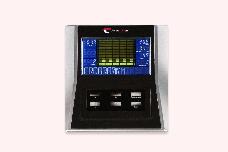 Ergometer EMS 3: Nutzerfreundlicher Computer