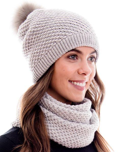 Hilltop Set aus Schal und Mütze, 100% Baumwolle – Bild 3