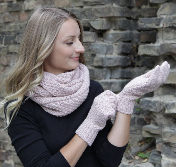 HILLTOP - Winter Kombi Set aus Schal und wahlweise Handschuhe oder Handwärmer, 2-tlg., versch. Farben – Bild 23