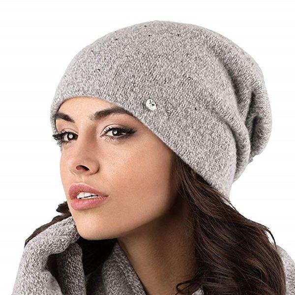 Kamea Novara Damen Mütze Kopfbedeckung Wintermütze Damenmütze  – Bild 3