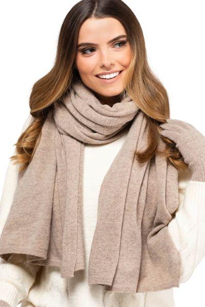 Kamea Damen Schal 80% Wolle, Macerata, Frascati, Gorycja, Herbst und Winter Schal, XXL Schal, Geschenk für Frauen – Bild 24