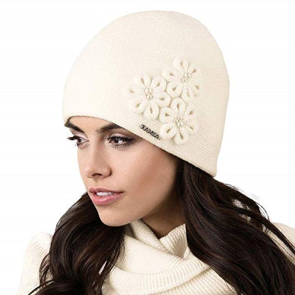 Kamea Corato Damen Mütze Kopfbedeckung Winter Herbst  – Bild 6