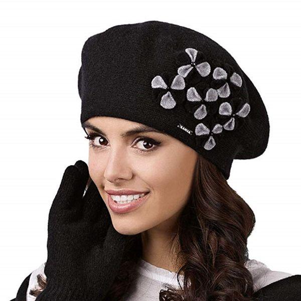 Kamea Gorycja Damen Baskenmütze Kopfbedeckung Eleganz  – Bild 4