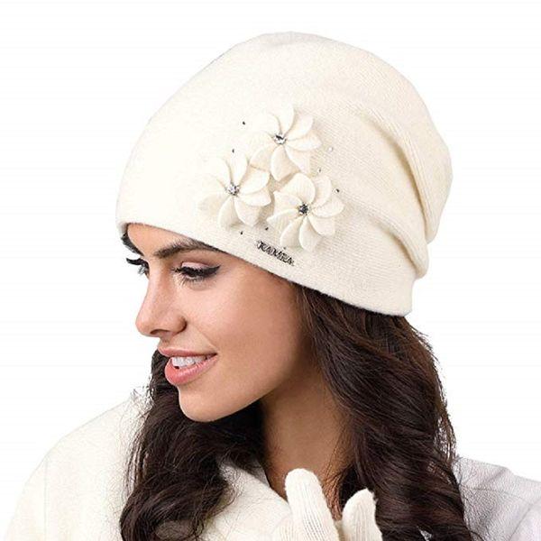 Kamea Siena Damen Mütze Kopfbedeckung Wintermütze  – Bild 2