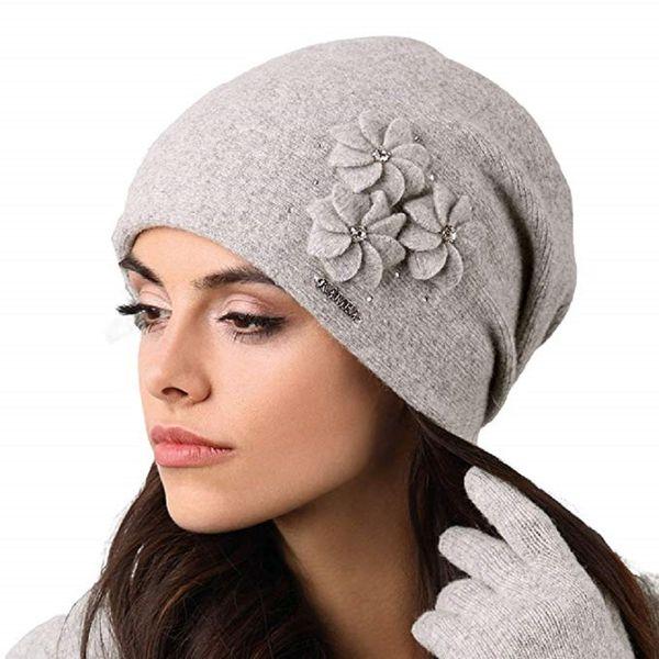 Kamea Siena Damen Mütze Kopfbedeckung Wintermütze  – Bild 3