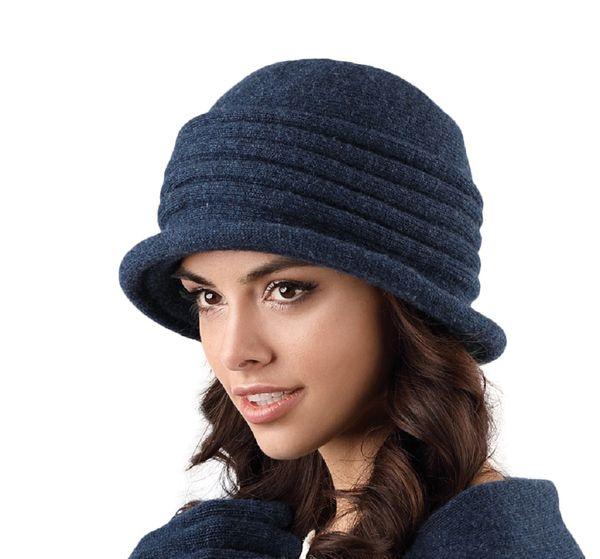 Kamea Salerno Damen Hut Kopfbedeckung Winter Herbst  – Bild 4
