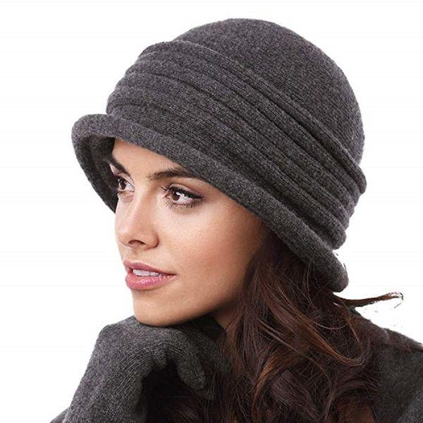 Kamea Salerno Damen Hut Kopfbedeckung Winter Herbst  – Bild 2