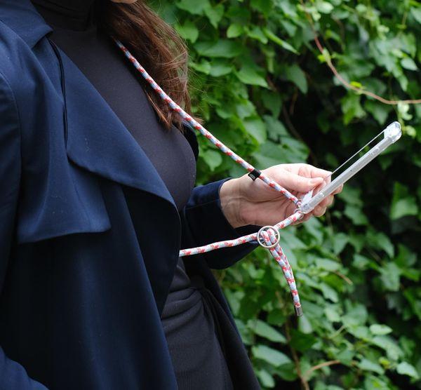 Hilltop Handyhülle mit Band, Handytasche zum Umhängen, Smartphone Handykette Hülle mit auswechselbarer Schnur, Phonecase Necklace – Bild 21