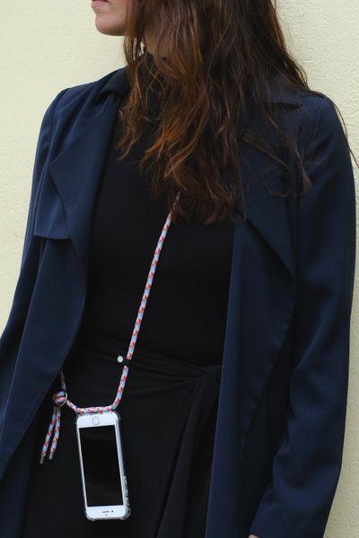 Hilltop Handyhülle mit Band, Handytasche zum Umhängen, Smartphone Handykette Hülle mit auswechselbarer Schnur, Phonecase Necklace – Bild 22