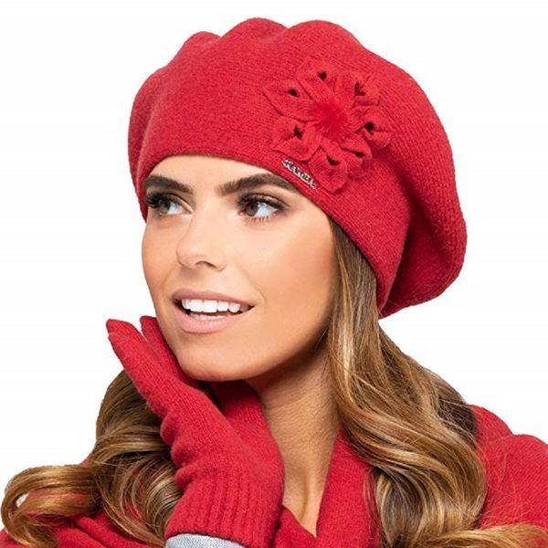 Kamea Baskenmütze Kopfbedeckung Herbst Winter Sewilla – Bild 4