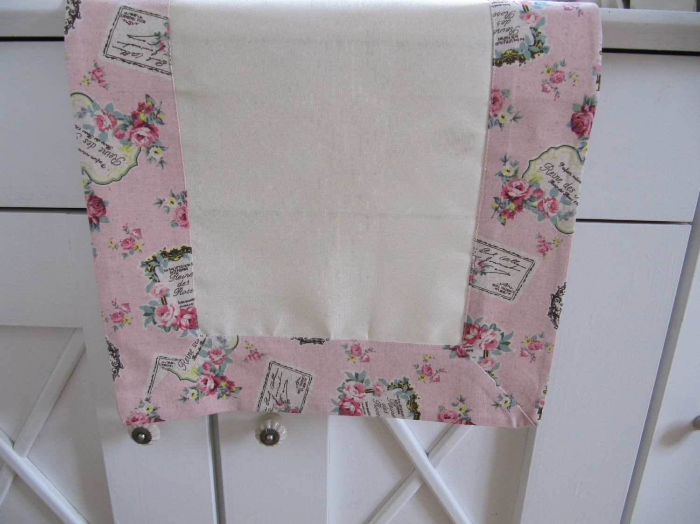textilserie roses rosa natur romantik shabby chic auswahl kissenh lle tischl ufer oder mitteldecke. Black Bedroom Furniture Sets. Home Design Ideas