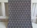 Tischläufer Modern Schwarz Chevron Grafik 40x150