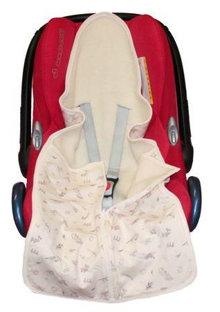 Baby-Safe-Säckchen aus Wollplüsch