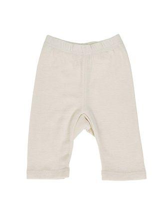 Kinder-Bermuda - 1/4 Bein aus Wolle/Seide