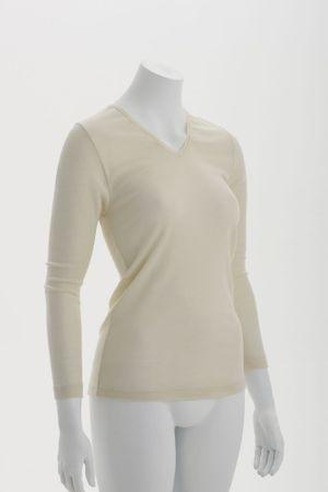 Damen-Unterhemd, Langarm