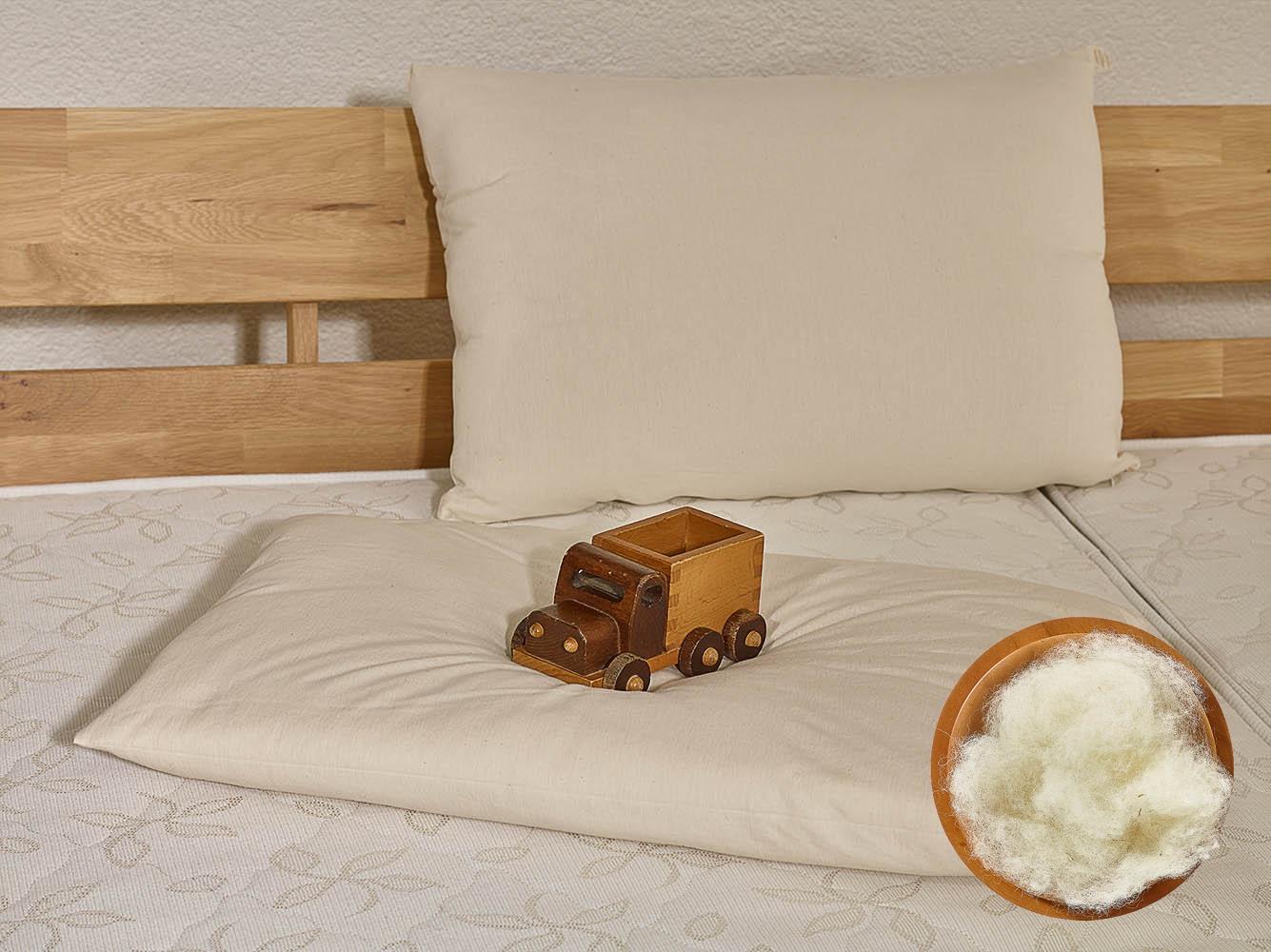woll kissen 40x60 cm frau wolle schafwollprodukte. Black Bedroom Furniture Sets. Home Design Ideas