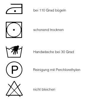 Auernhammer Waschsymbole