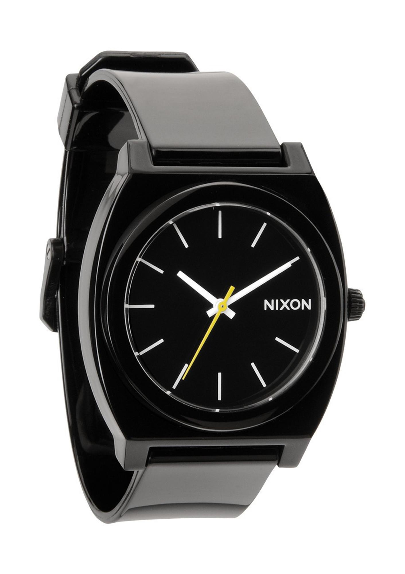 NIXON The Time Teller P Uhr Schwarz A119 000