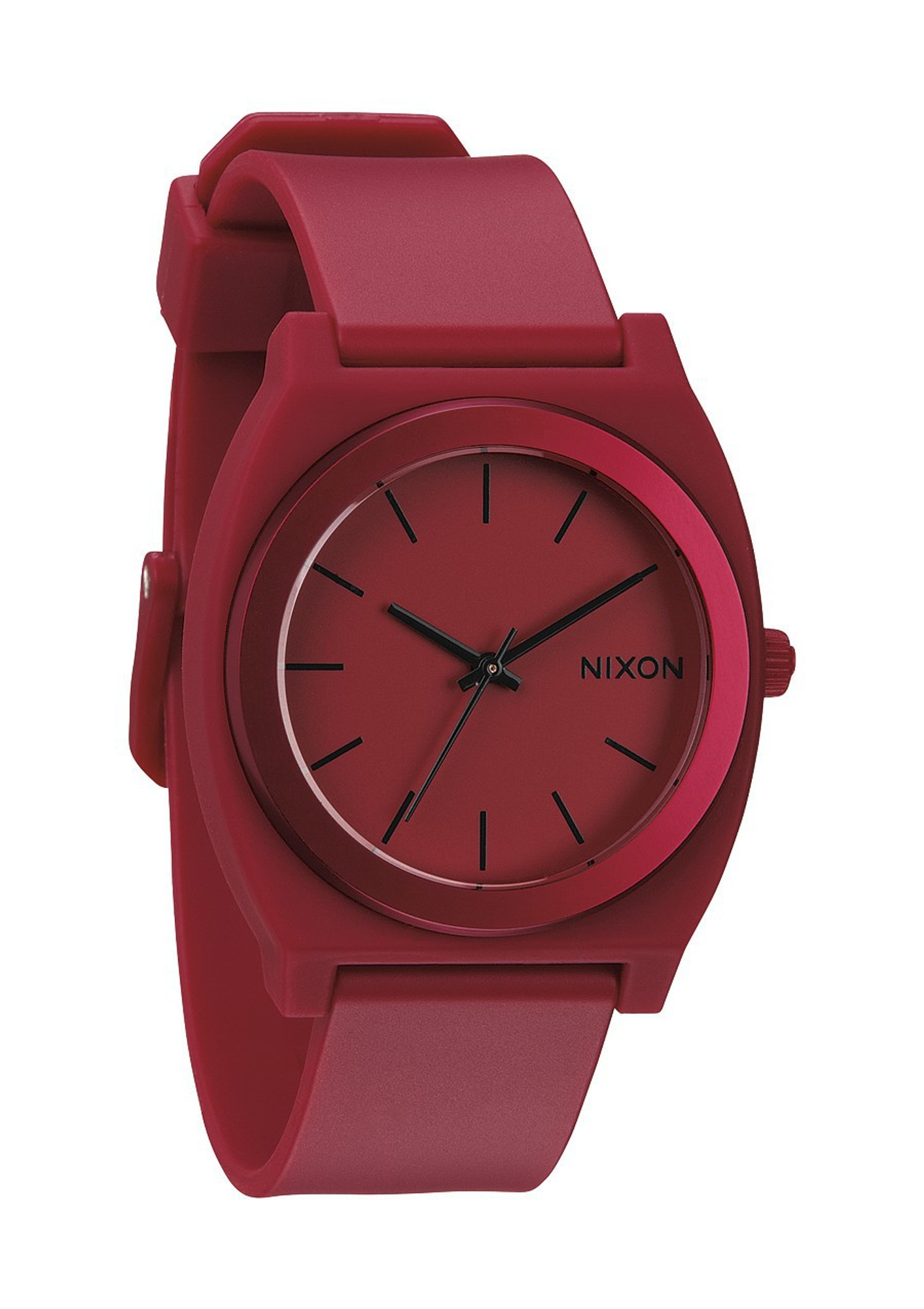 NIXON The Time Teller P Uhr Rot Ano A119 1298