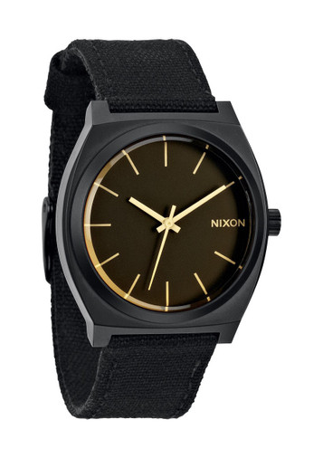 NIXON The Time Teller Uhr Schwarz Orange Tint A045 1354 – Bild 1
