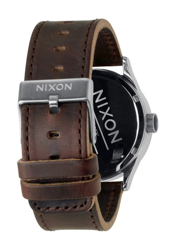 NIXON The Sentry Leather Day- Date Quarzuhr A105 1113 – Bild 3