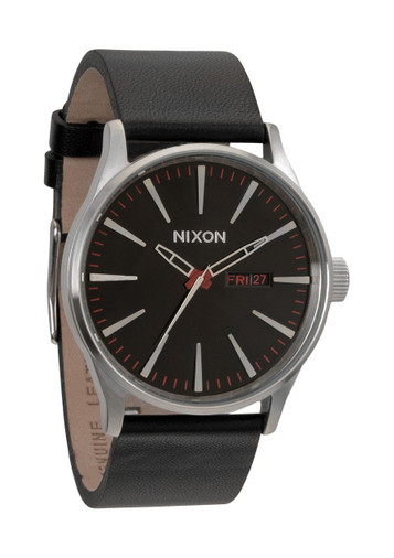 NIXON The Sentry Leather Day Date A105-000 – Bild 1