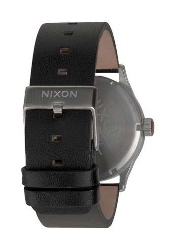 NIXON The Sentry Leather Day Date A105-000 – Bild 3