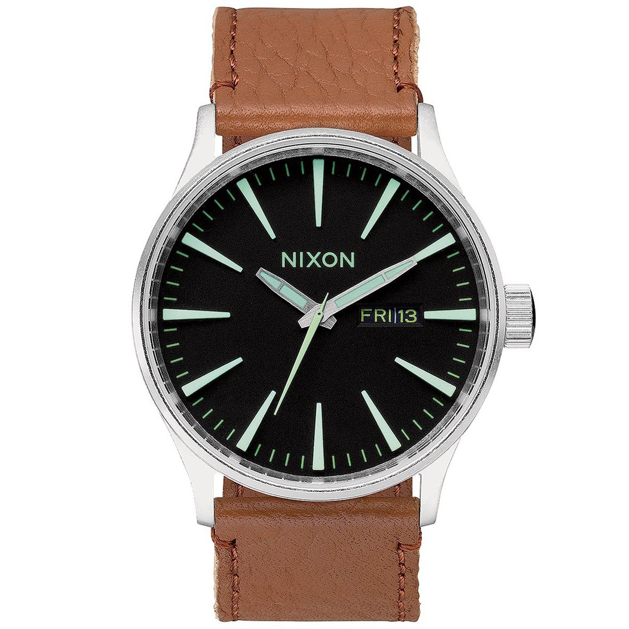 NIXON Sentry Leather Herrenuhr A105-1037