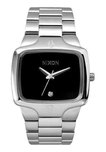 NIXON Player Black Quarzuhr A140-000-00 – Bild 1