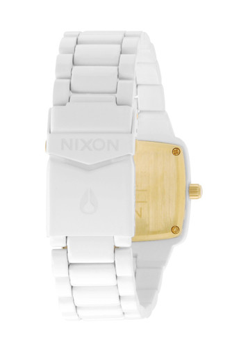 NIXON Player White Quarzuhr A140 1035 – Bild 3