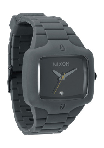 NIXON Rubber Player Grey Quarzuhr A139 195 – Bild 1
