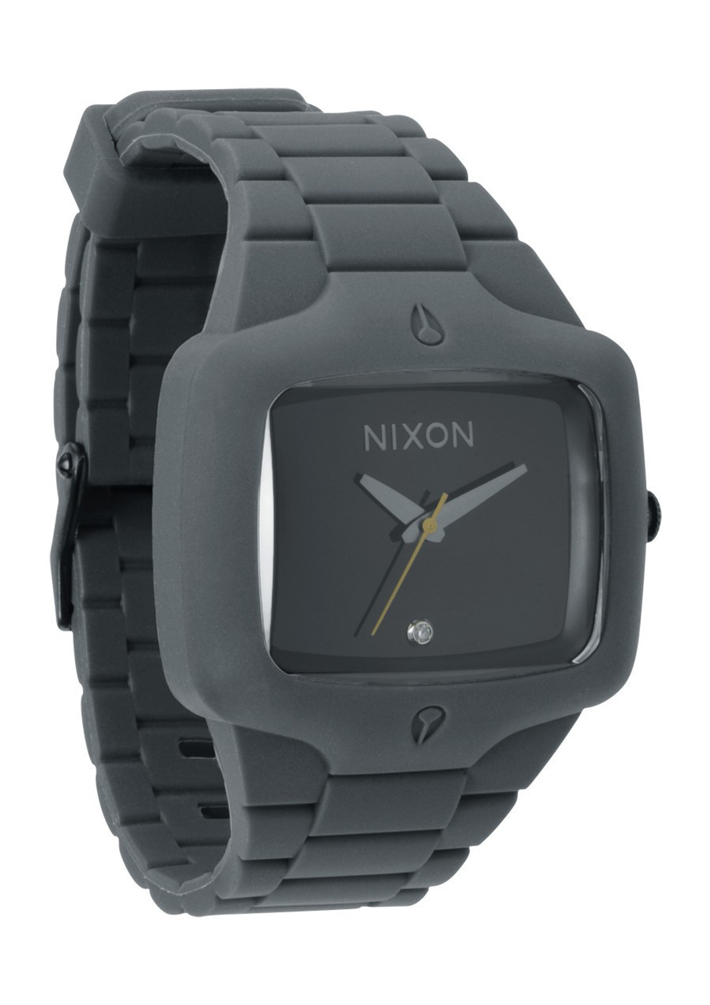 NIXON Rubber Player Grey Quarzuhr A139 195