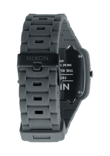NIXON Rubber Player Grey Quarzuhr A139 195 – Bild 3