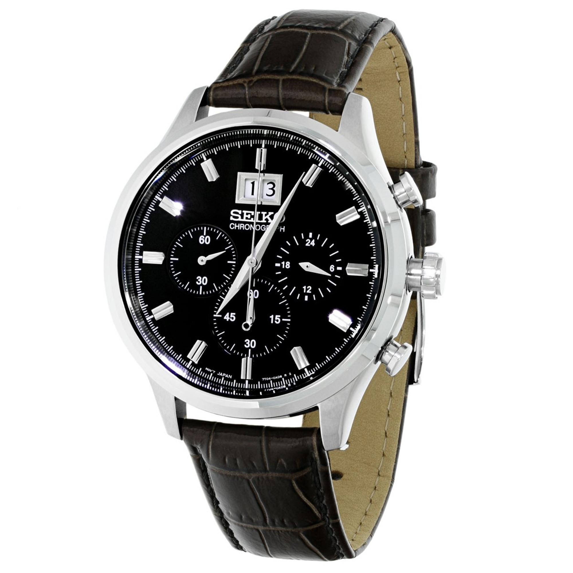 SEIKO Big Date Quarz Chronograph SPC083P2