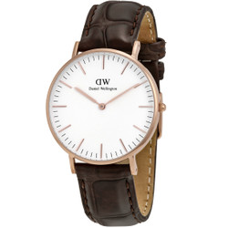 DANIEL WELLINGTON Classic York Quarzuhr 0510DW